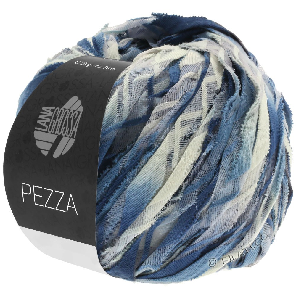 Lana Grossa PEZZA | 04-blågrå/jeans/grège/stålblå