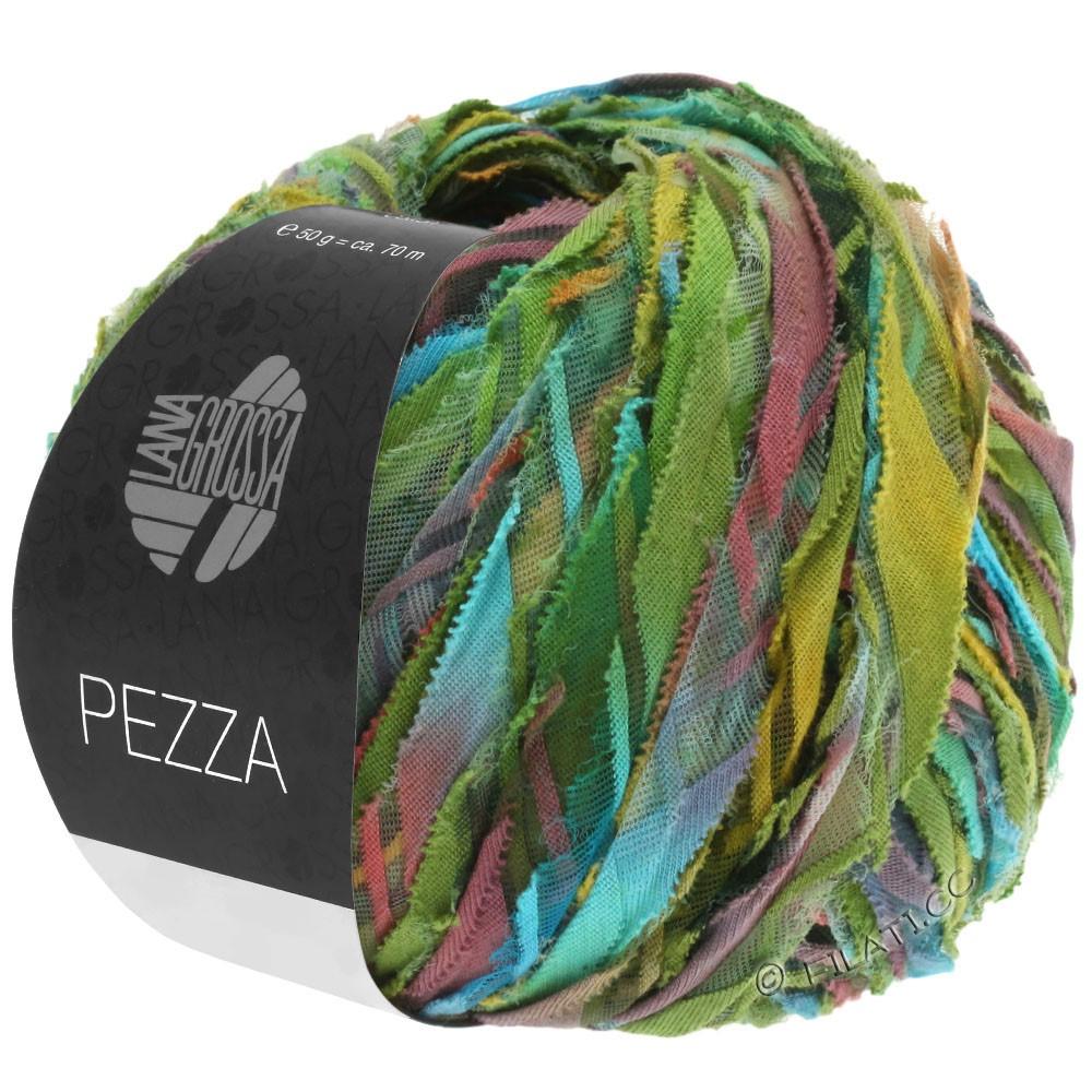 Lana Grossa PEZZA | 05-grøn/turkis/terrakotta/okker/oliven