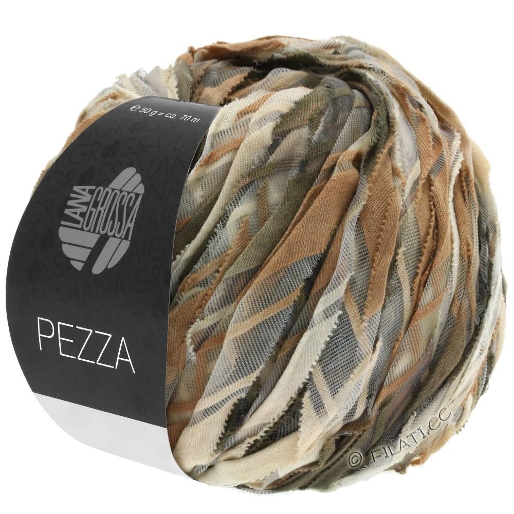 Lana Grossa PEZZA | 08-beige/kamel/taupe/gråbrun