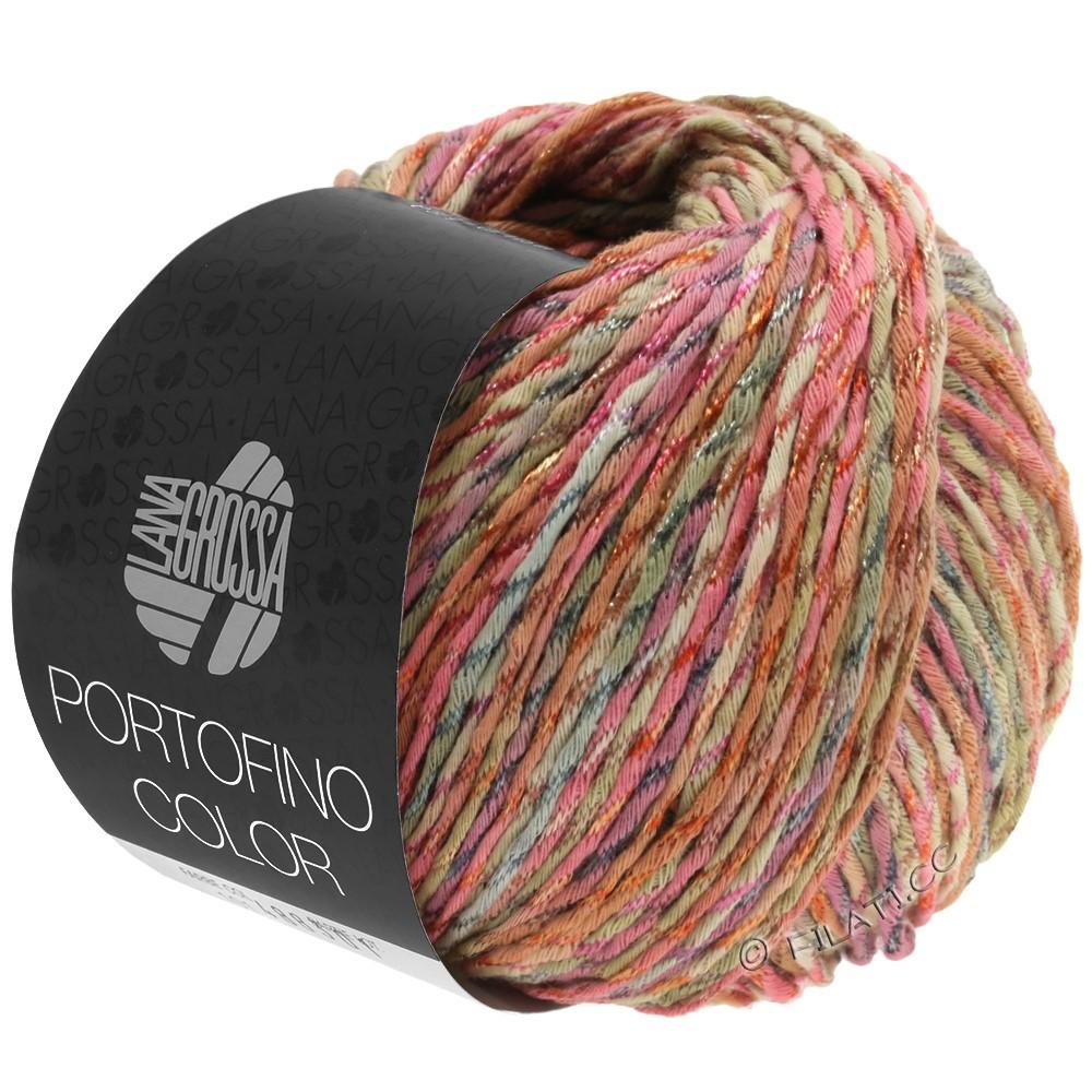 Lana Grossa PORTOFINO Color | 103-antikrosa/sand/grå/kanel