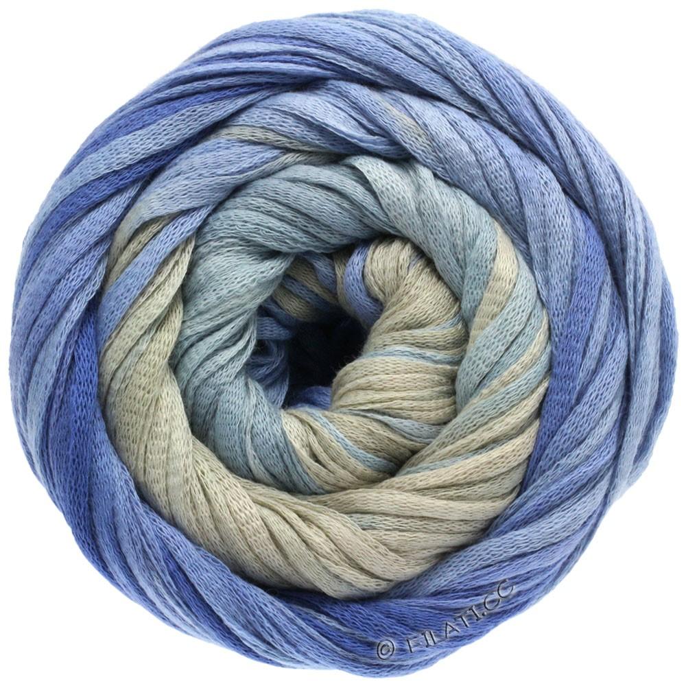 Lana Grossa PRIMAVERA | 103-gråblå/violetblå/stengrå