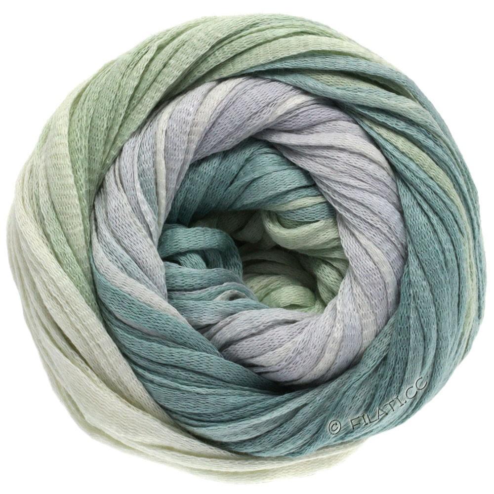 Lana Grossa PRIMAVERA | 109-natur/sølvgrå/grågrøn/pastelgrøn