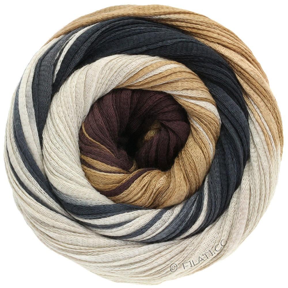 Lana Grossa PRIMAVERA | 118-blegbrun/lyse beige/sortbrun