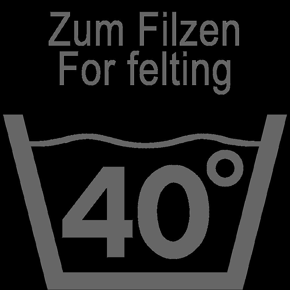 Filtning: Vask 40°C