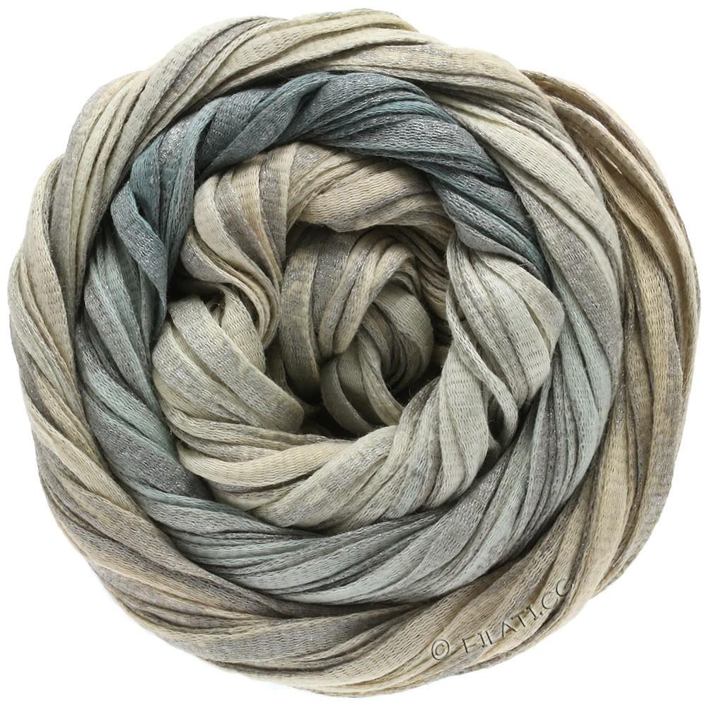 Lana Grossa ROMA Degradé | 304-natur/grå/sølv