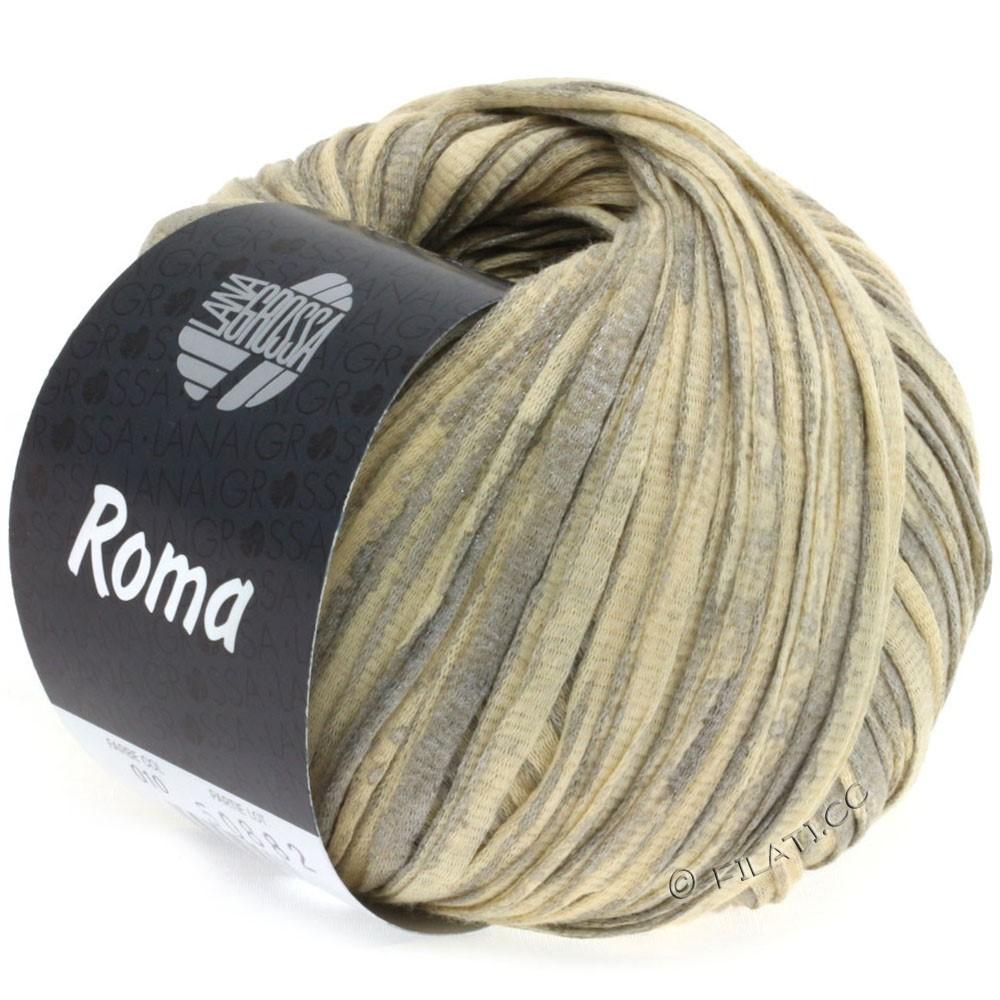 Lana Grossa ROMA | 010-beige/sølv