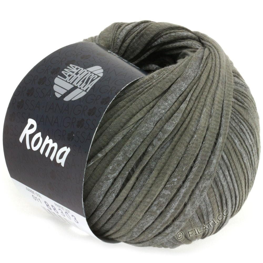 Lana Grossa ROMA | 011-mørkegrå/sølv