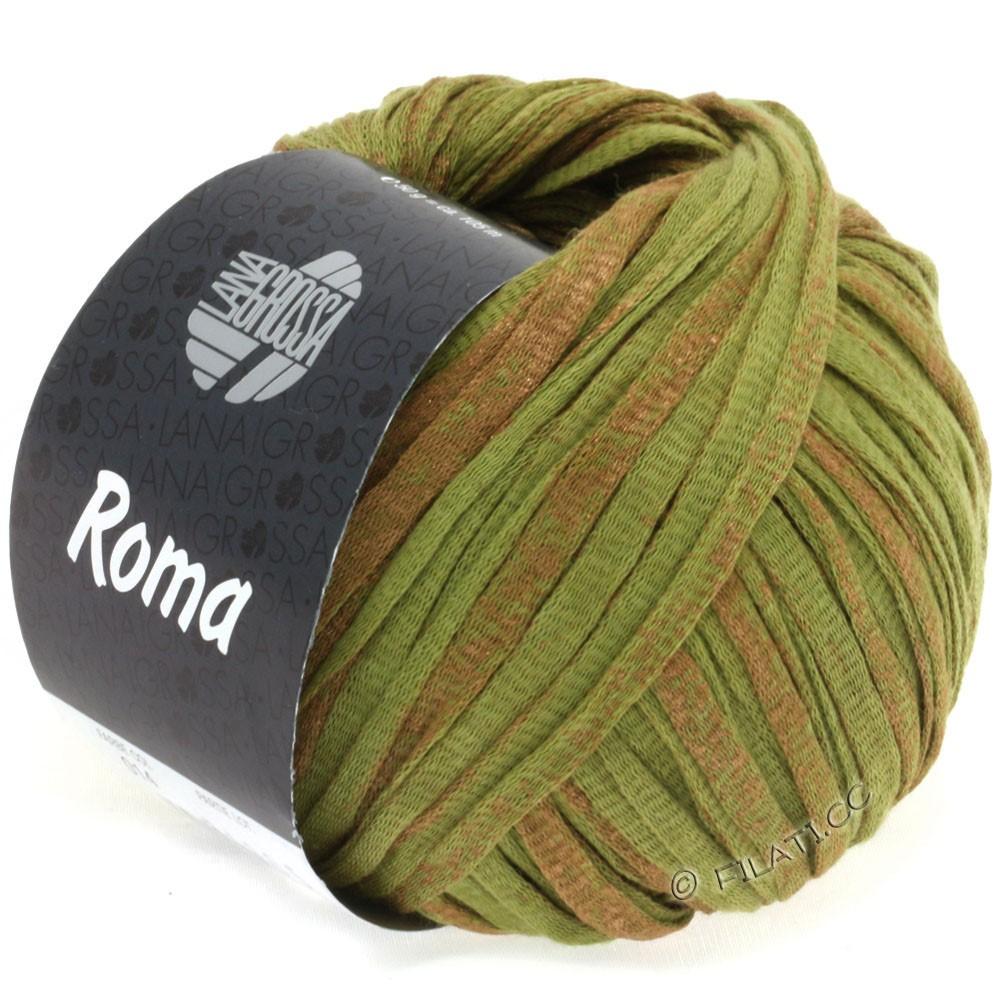 Lana Grossa ROMA | 014-oliven/kobber