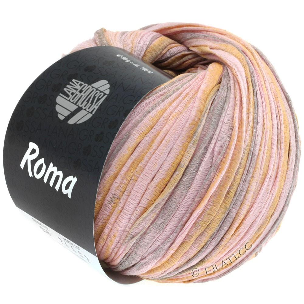 Lana Grossa ROMA | 016-rosa/gylden/sølv
