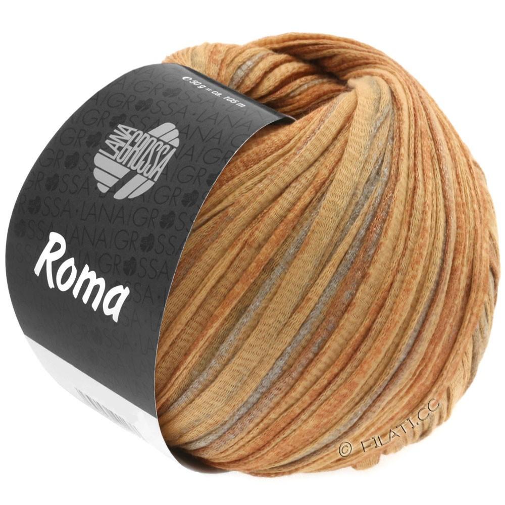 Lana Grossa ROMA | 029-gyldenbrun/kobber/sølv