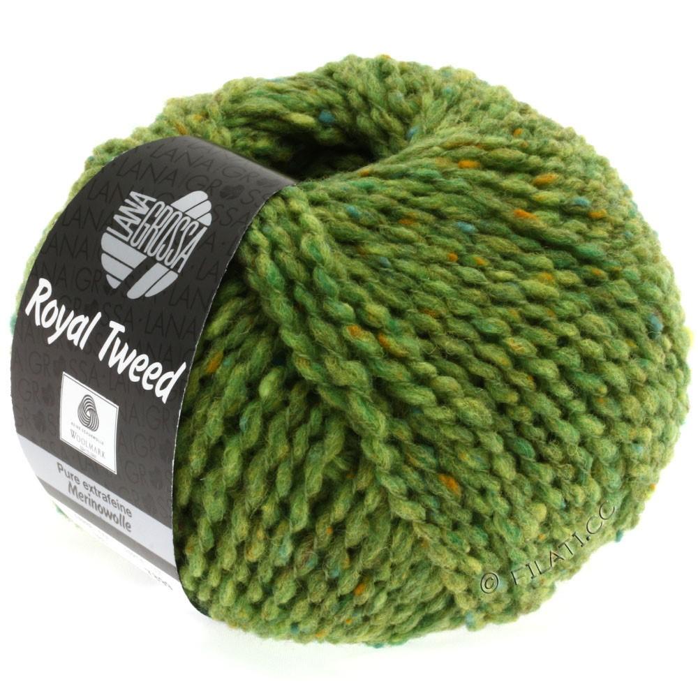 Lana Grossa ROYAL TWEED | 52-lysegrøn meleret