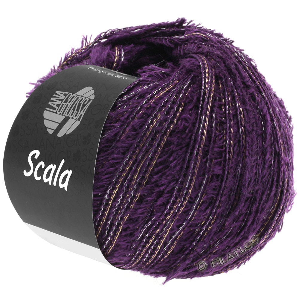 Lana Grossa SCALA   04-mørk violet