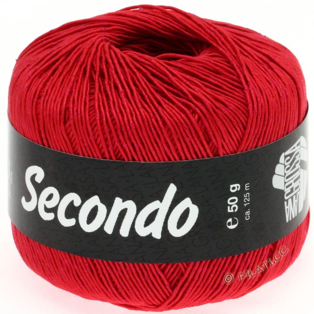 Lana Grossa SECONDO | 36-rød