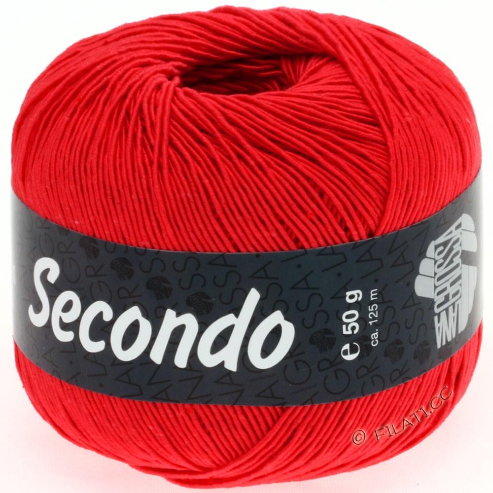 Lana Grossa SECONDO | 55-refleksrød