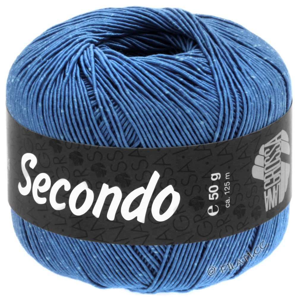 Lana Grossa SECONDO | 75-blå