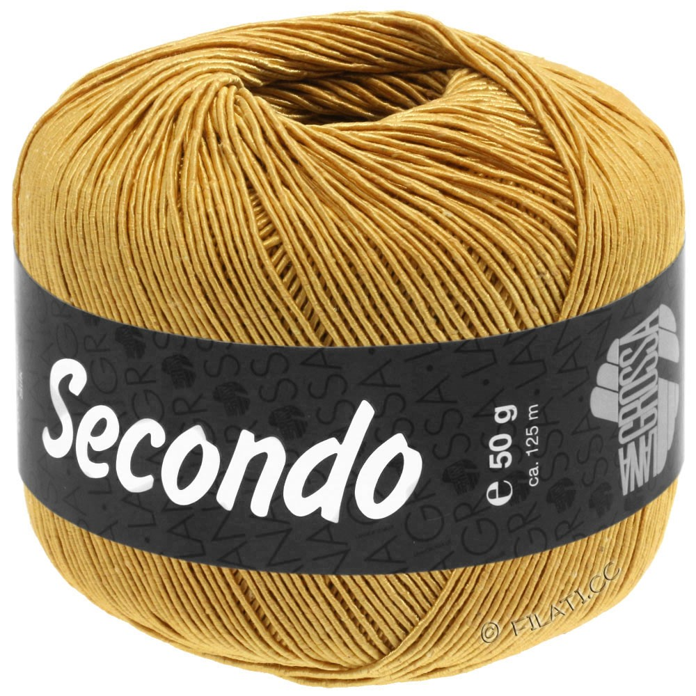 Lana Grossa SECONDO | 81-gyldengul