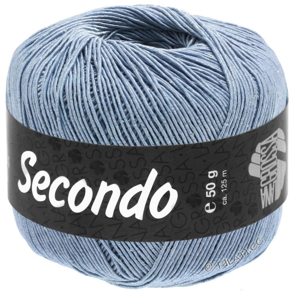 Lana Grossa SECONDO | 82-dueblå