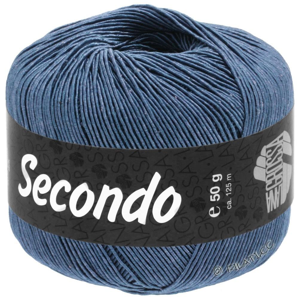 Lana Grossa SECONDO | 84-stålblå