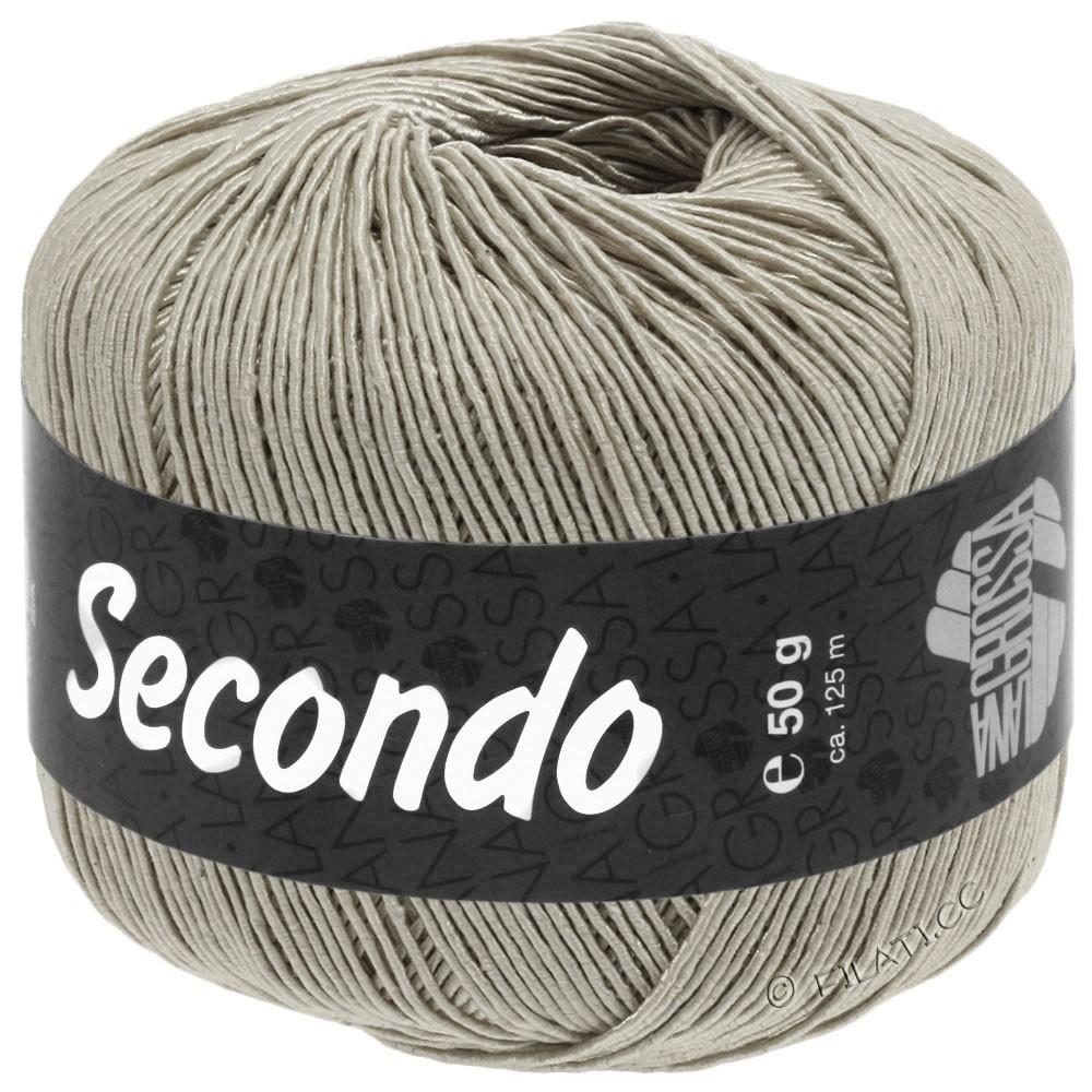 Lana Grossa SECONDO | 85-stengrå