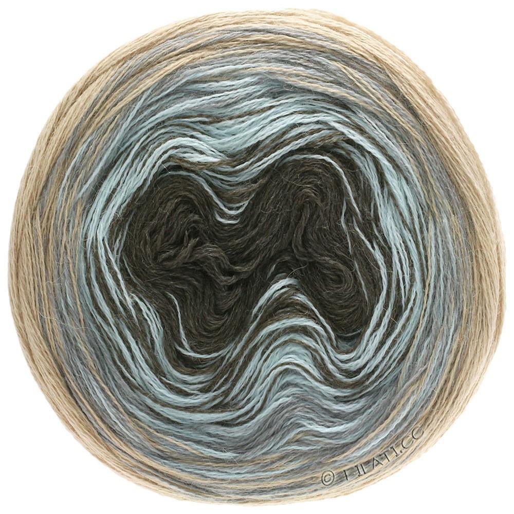 Lana Grossa SHADES OF ALPACA SILK | 304-beige/lys grå/isblå/mokka