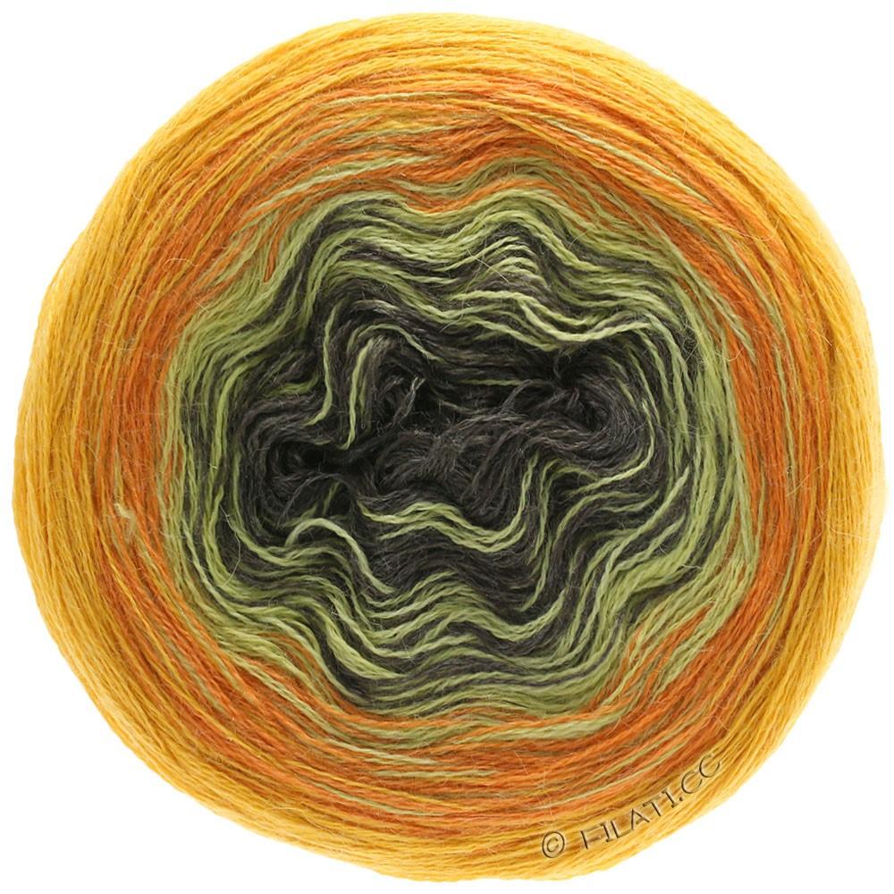 Lana Grossa SHADES OF ALPACA SILK | 308-solgul/orange/sennep/mokka