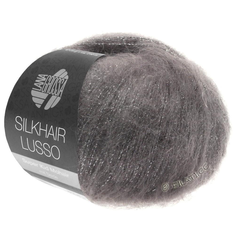 Lana Grossa SILKHAIR Lusso | 906-grafit