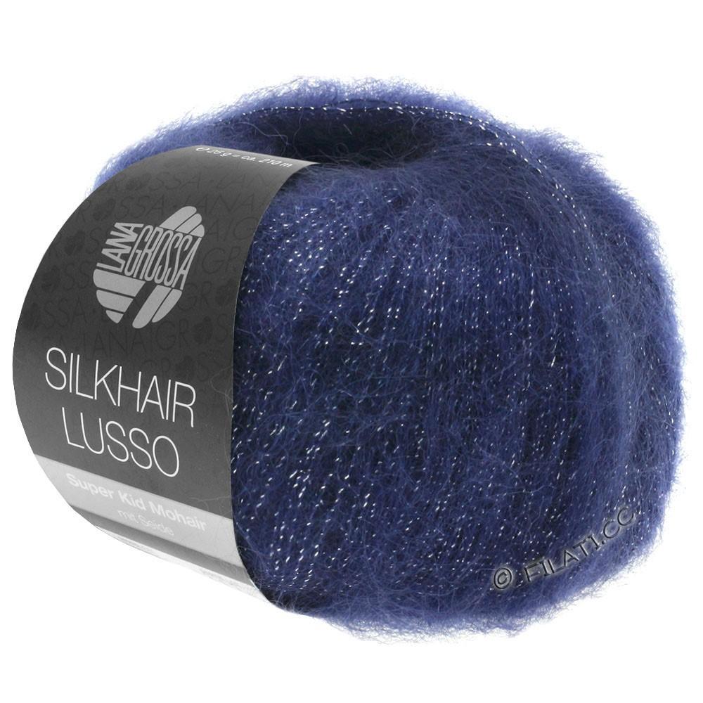 Lana Grossa SILKHAIR Lusso | 907-mørkeblå