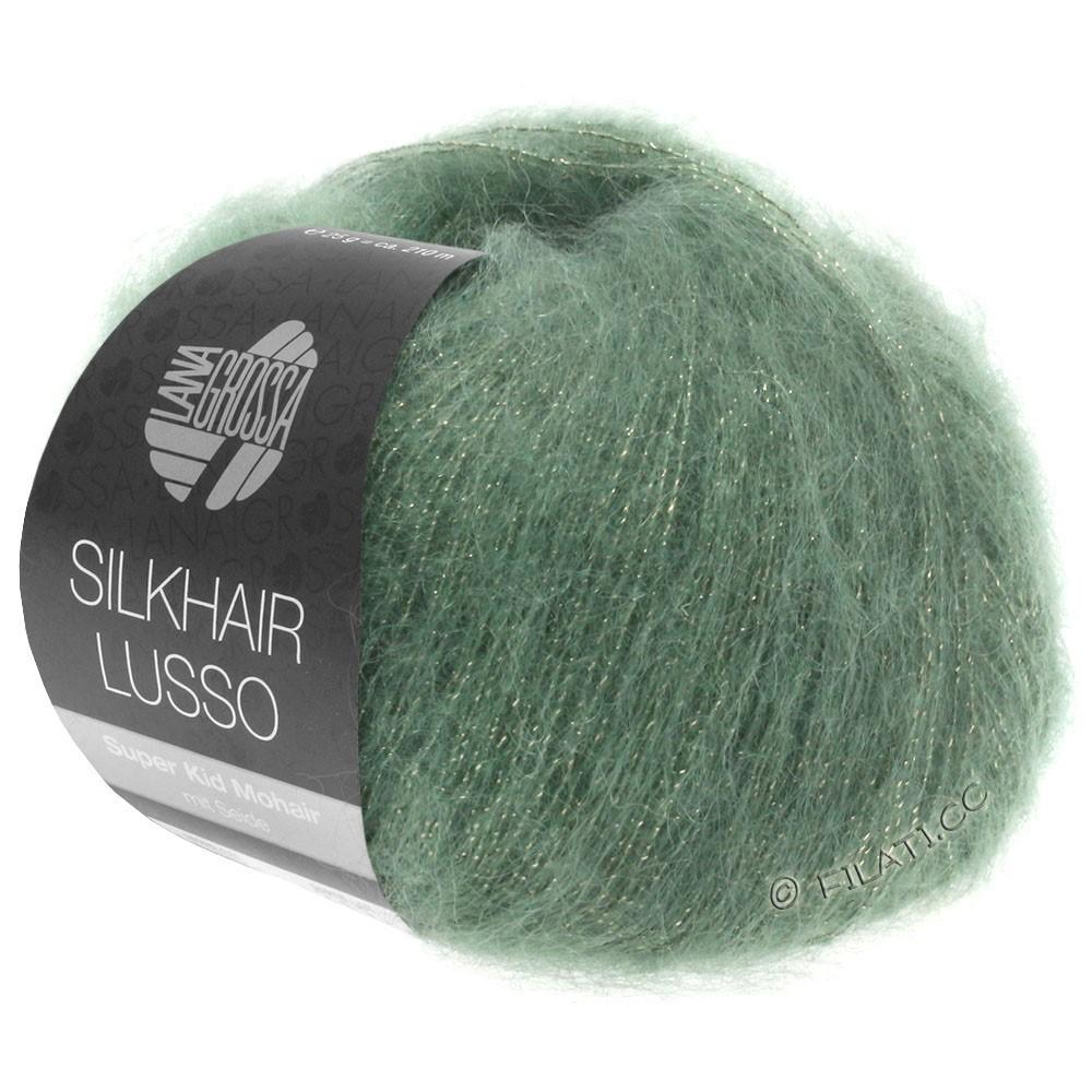 Lana Grossa SILKHAIR Lusso | 911-grøn