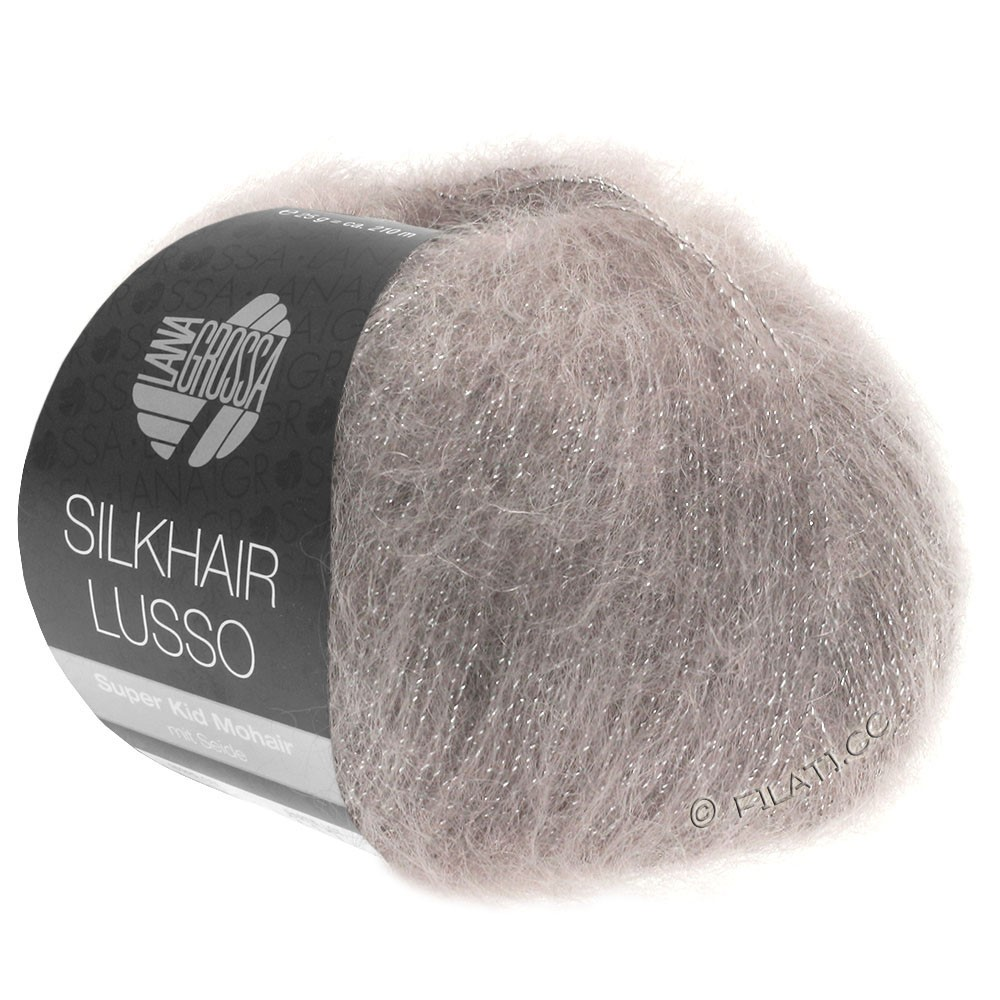 Lana Grossa SILKHAIR Lusso | 913-taupe