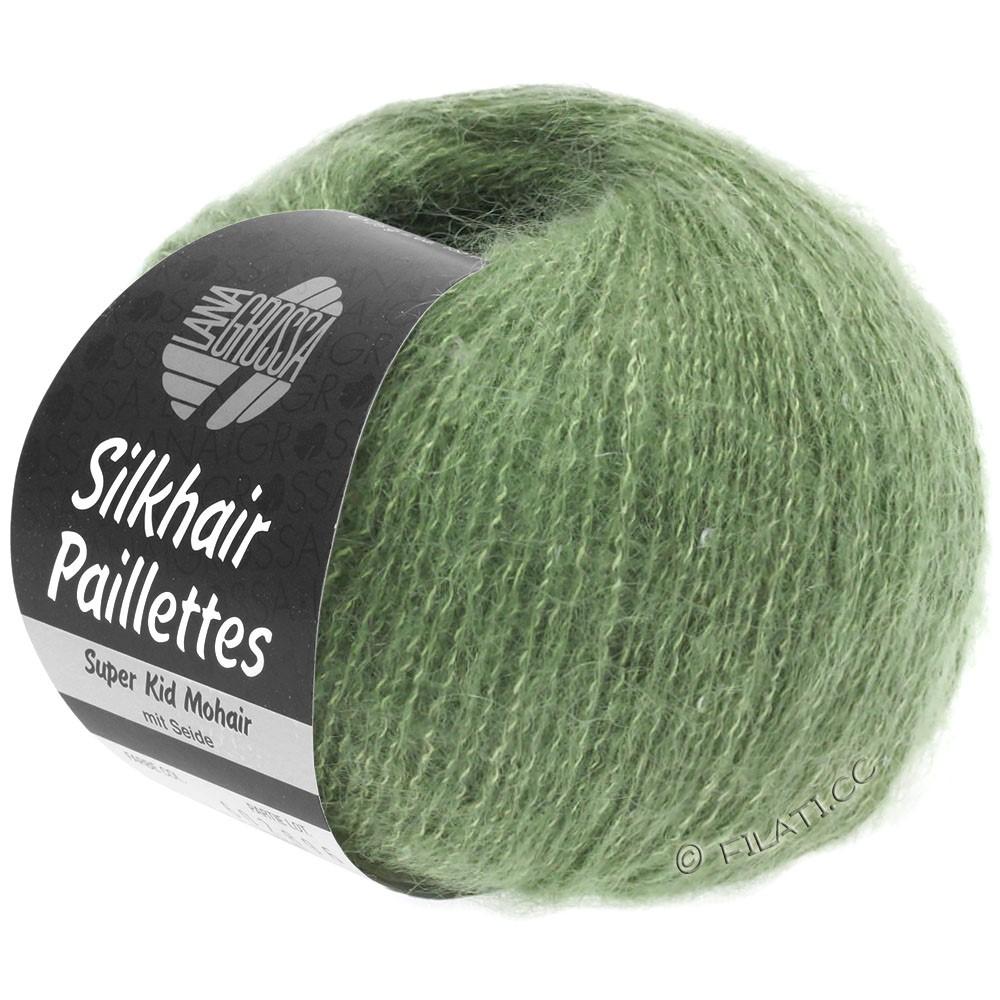 Lana Grossa SILKHAIR Paillettes | 420-resedagrøn