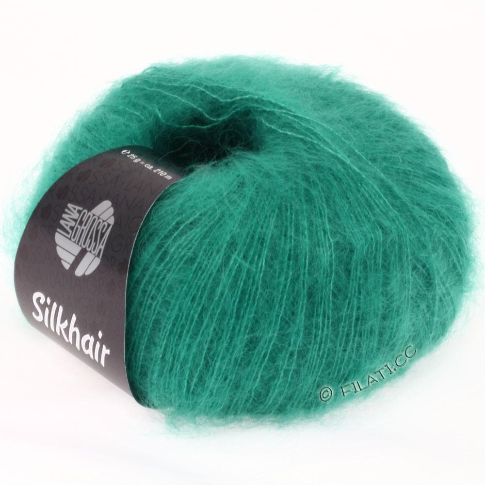 Lana Grossa SILKHAIR  Uni/Melange | 022-turkisgrøn