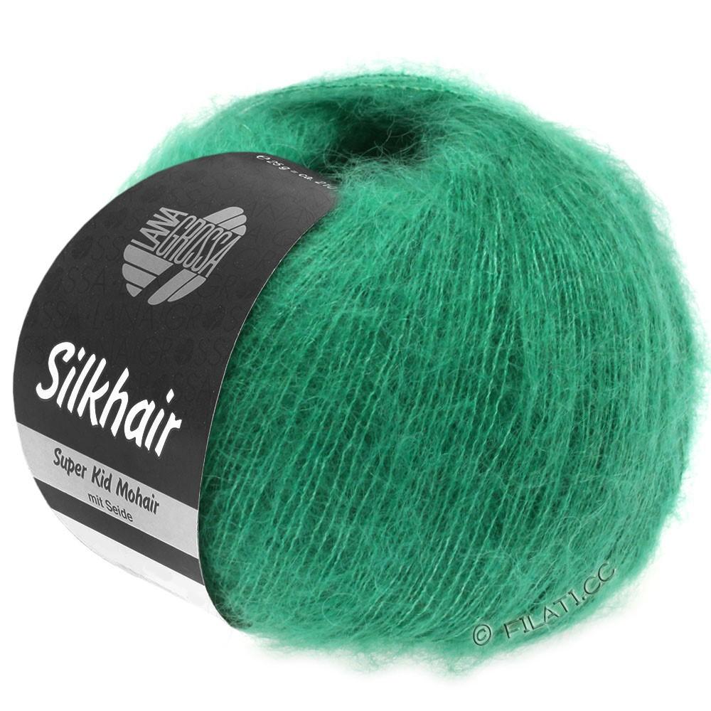 Lana Grossa SILKHAIR  Uni/Melange | 109-smaragd