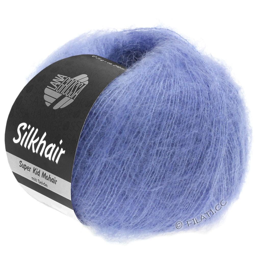Lana Grossa SILKHAIR  Uni/Melange | 116-violetblå