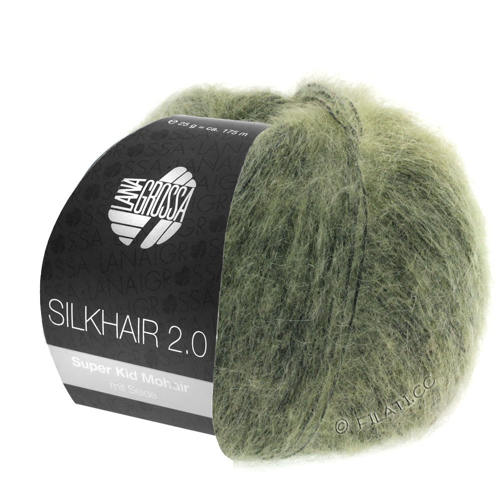 Lana Grossa SILKHAIR 2.0 | 04-grågrøn
