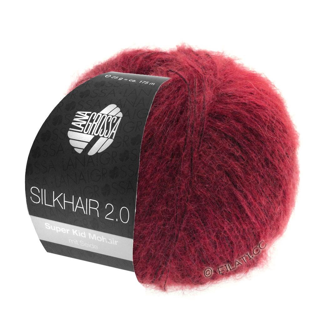 Lana Grossa SILKHAIR 2.0 | 07-rød