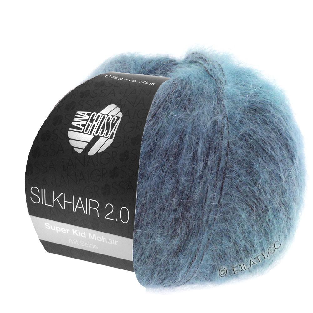 Lana Grossa SILKHAIR 2.0 | 10-gråblå
