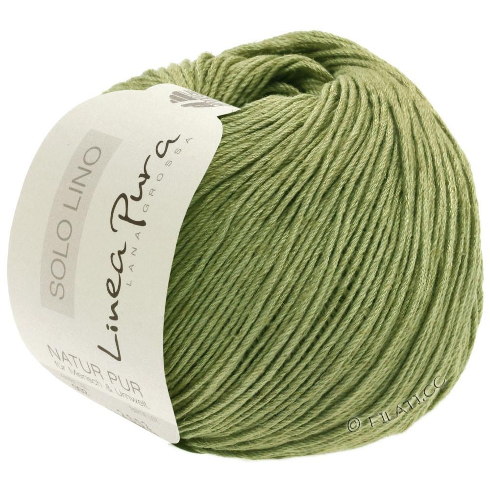 Lana Grossa SOLO LINO (Linea Pura)   19-limegrøn