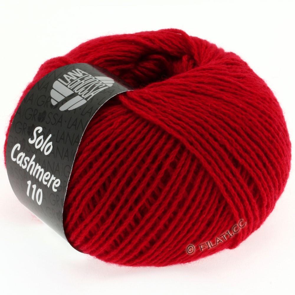 Lana Grossa SOLO CASHMERE 110 | 102-rød