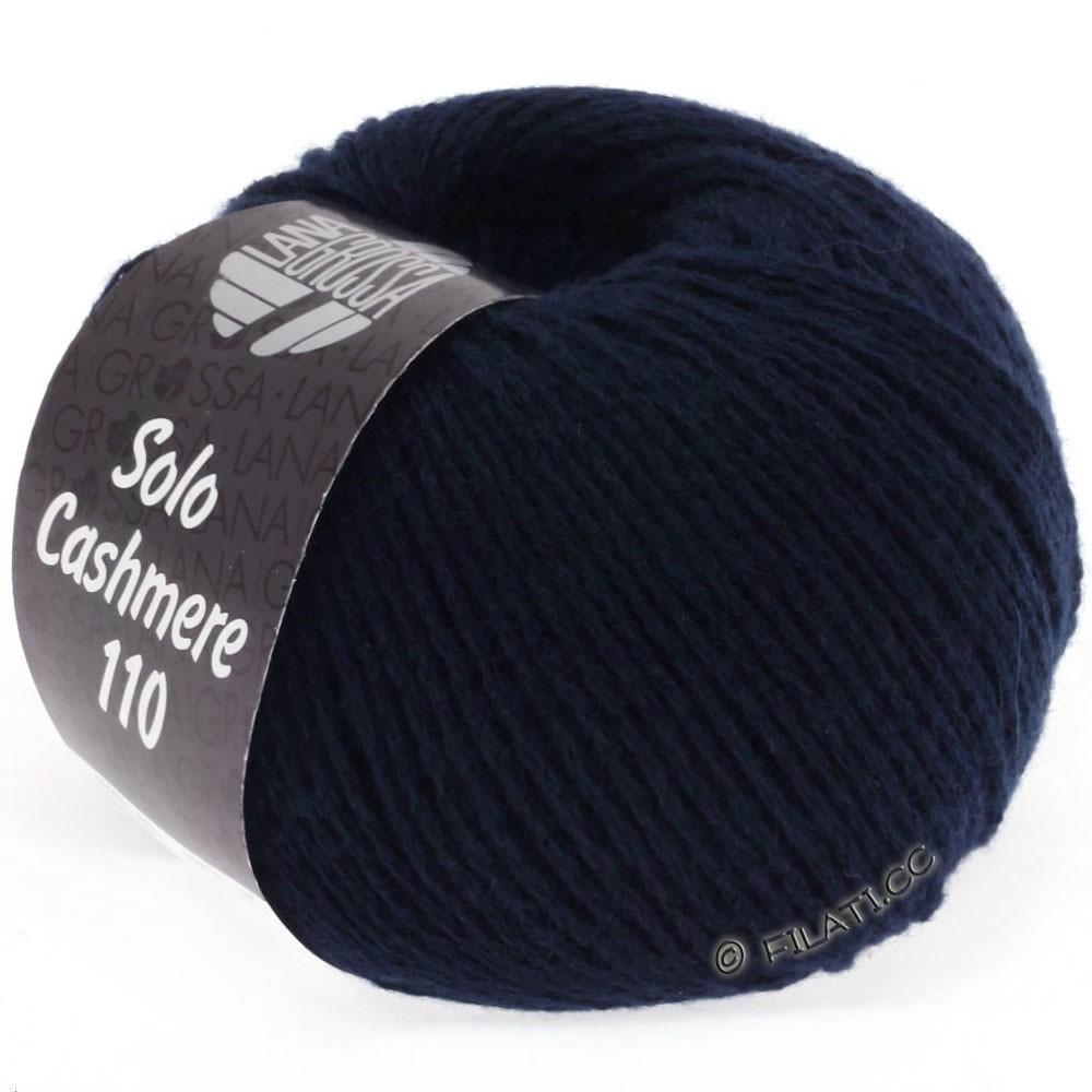 Lana Grossa SOLO CASHMERE 110 | 107-natblå