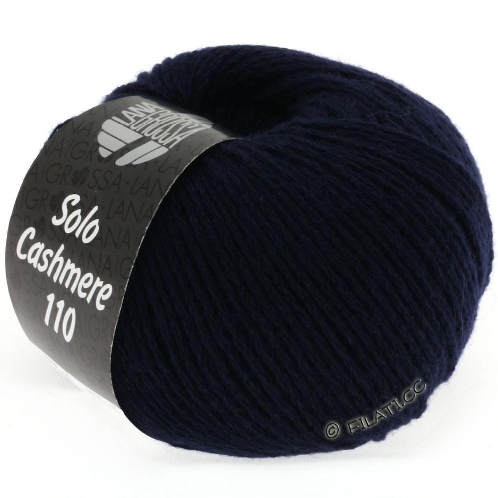 Lana Grossa SOLO CASHMERE 110 | 121-natblå