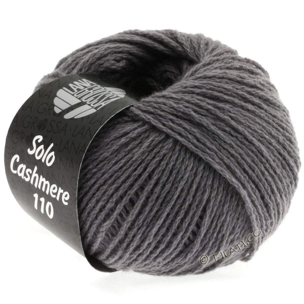 Lana Grossa SOLO CASHMERE 110 | 124-gennemsnit grå