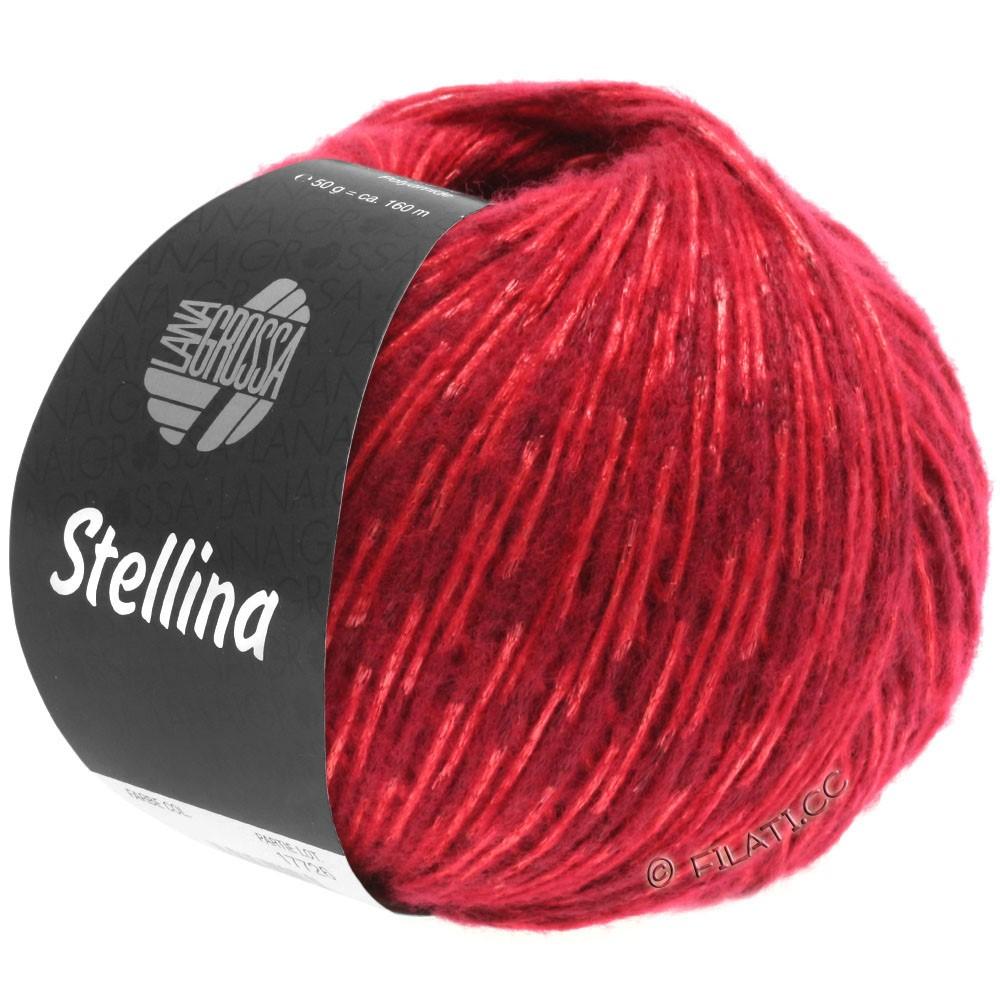 Lana Grossa STELLINA | 10-mørkerød/rød