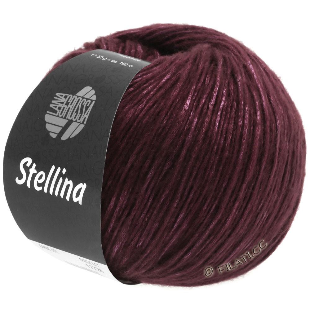 Lana Grossa STELLINA | 15-brombær/burgund