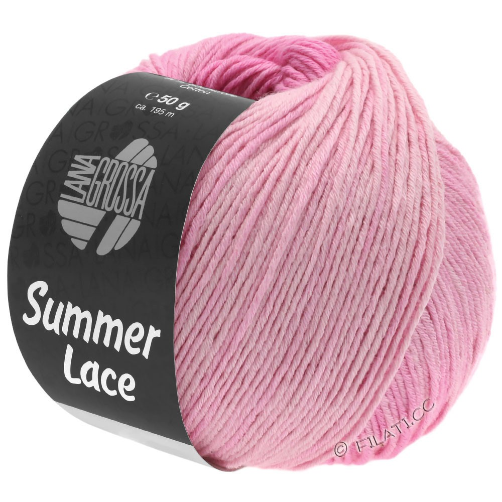 Lana Grossa SUMMER LACE DEGRADÉ | 101-pudder/sartrosa/rosa/pink