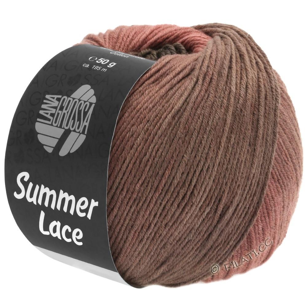 Lana Grossa SUMMER LACE DEGRADÉ | 106-gammelrosa/rosentræ/gråbeige