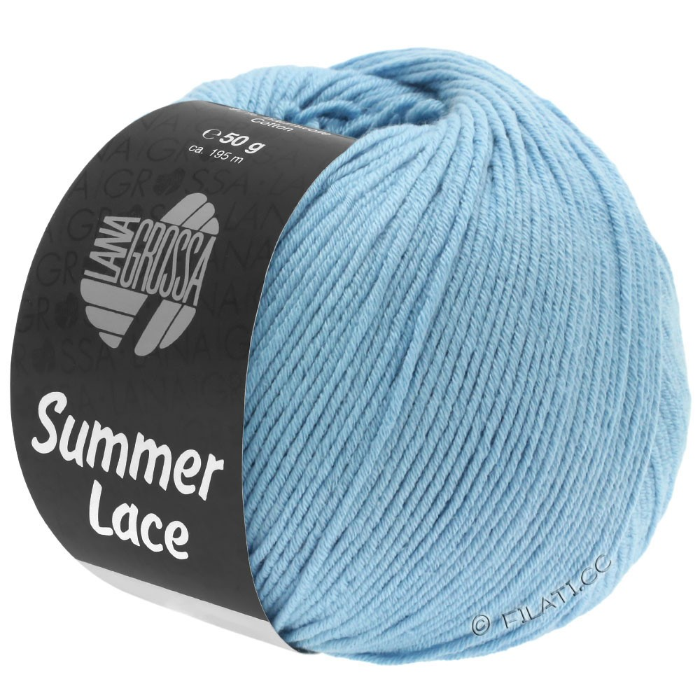 Lana Grossa SUMMER LACE | 06-lyseblå