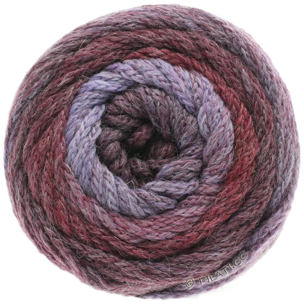 Lana Grossa SUPER COLOR | 105-purpur/bær/bordeaux/hyldebær