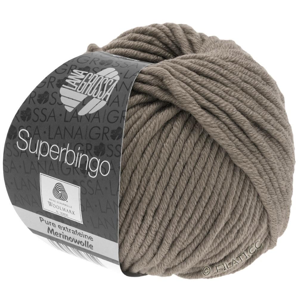 Lana Grossa SUPERBINGO | 004-gråbrun