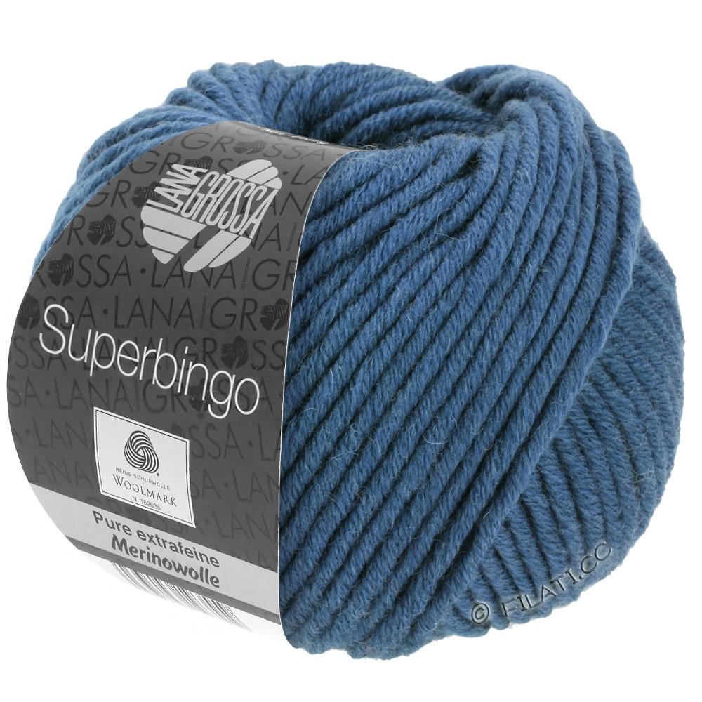 Lana Grossa SUPERBINGO | 007 -petrol blå