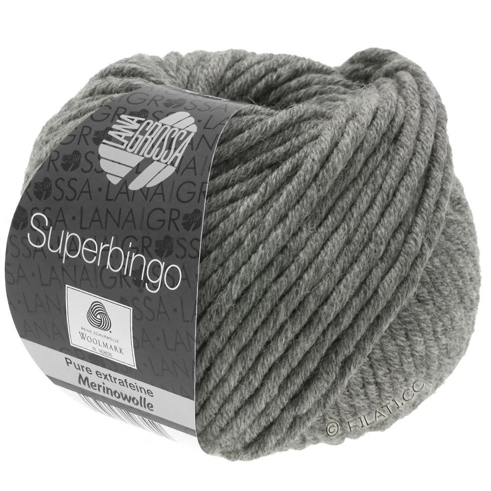 Lana Grossa SUPERBINGO | 025-mørkegrå meleret